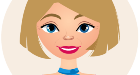 Illustration de l'avatar de Nathalie, Femme blonde avec un foulard autour du cou
