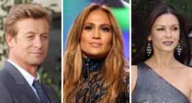 Aperçu des stars qui auront 50 ans en 2019 : Simon Baker, Jennifer Lopez, Catherine Zeta-Jones