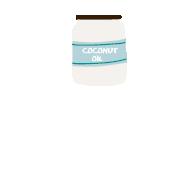 1 g d'huile de noix de coco (non raffinée et bio si possible)
