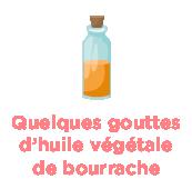 Quelques gouttes d'huile végétale de bourrache