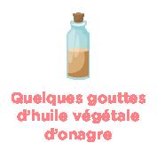 Quelques gouttes d'huile végétale d'onagre