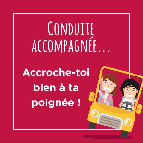 Post humoristique sur la conduite accompagnée avec nos enfants
