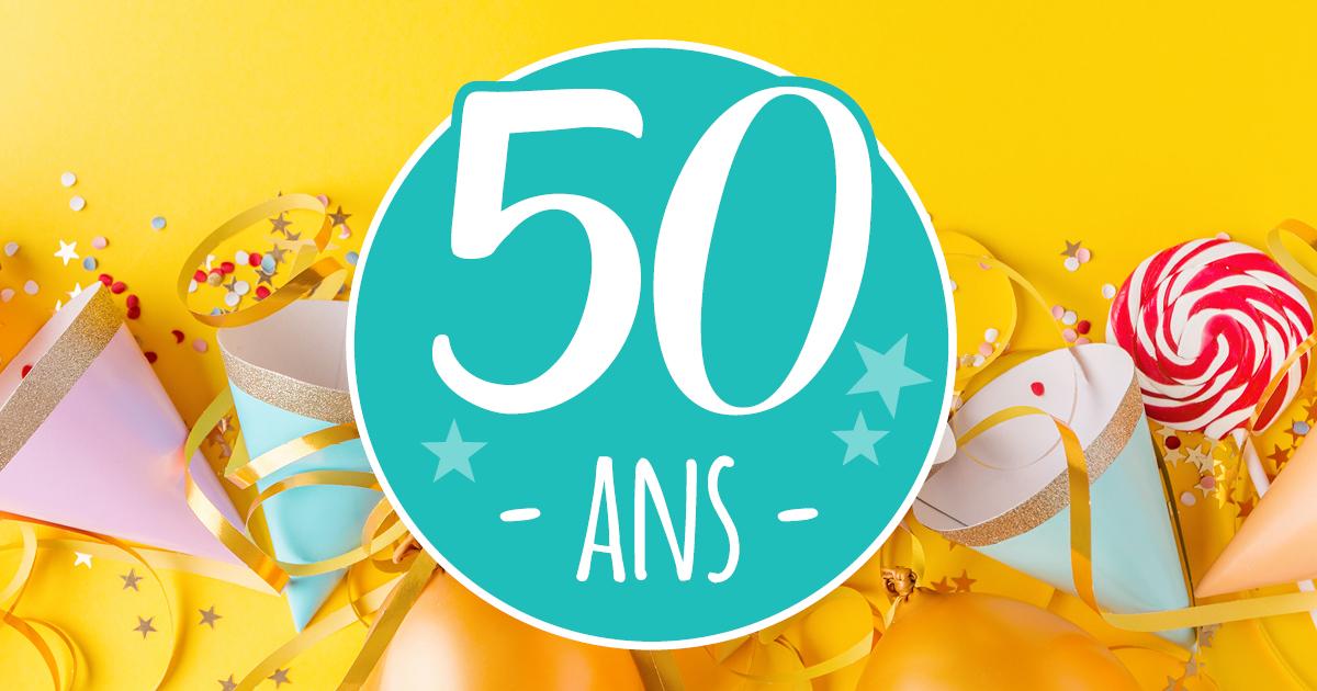 10 Idées Pour Organiser La Fête De Ses 50 Ans 50 Ans Dans