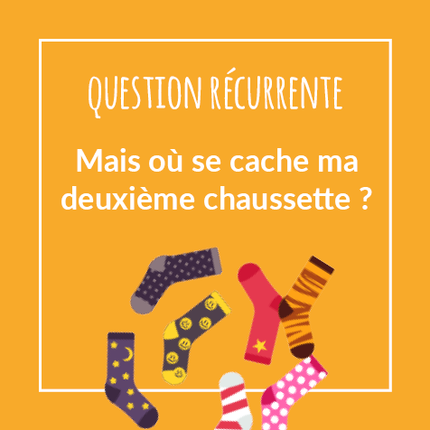 Post humoristique - Question récurrente : Où va ma deuxième chaussette ?