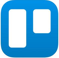 Logo de l'application smartphone Trello