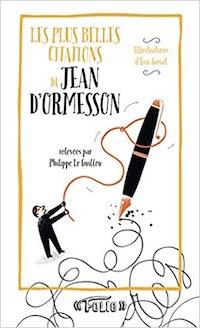livre citations jean d'ormesson