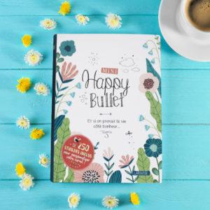 Livre Mini Happy Bullet - Un journal au format poche vous accompagne toute la journée