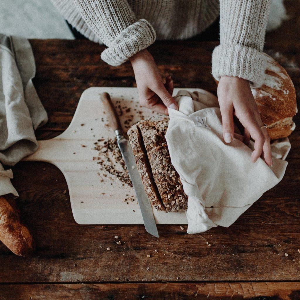 Image d'un sac à pain pour réussir ses courses zéro déchet