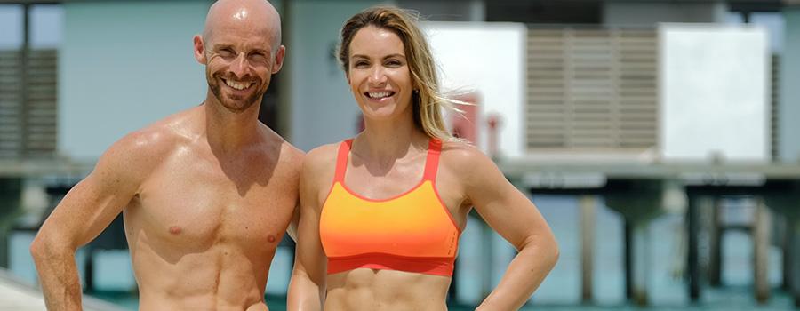 Photo de Jessica Mellet et Alexandre Mallier fondateur de Move your fit et partenaire 50ansdanslevent