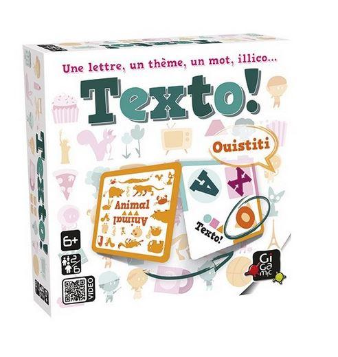 Photo du jeu de société Texto