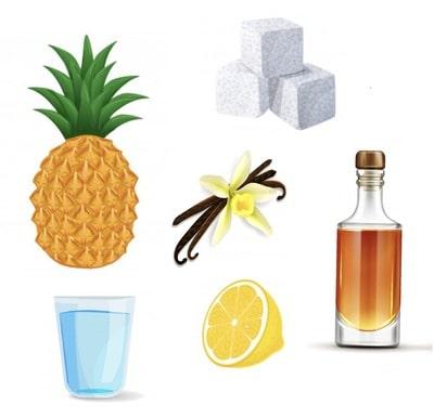 ingredients confiture