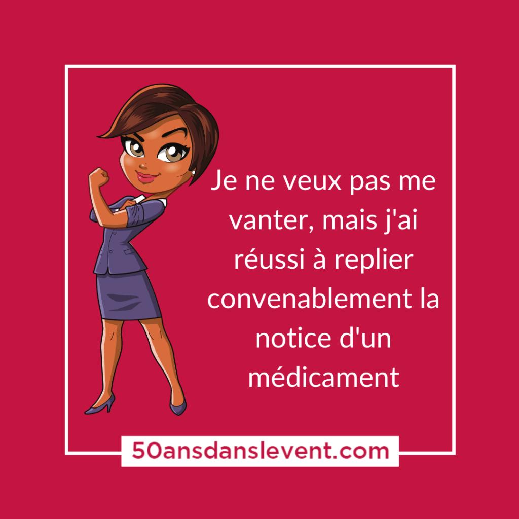 medicament notice