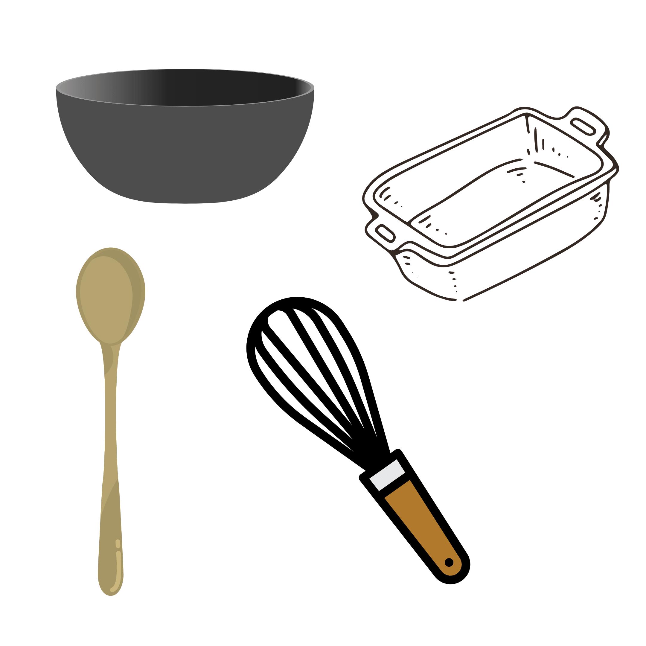 Ustensiles pour la recette