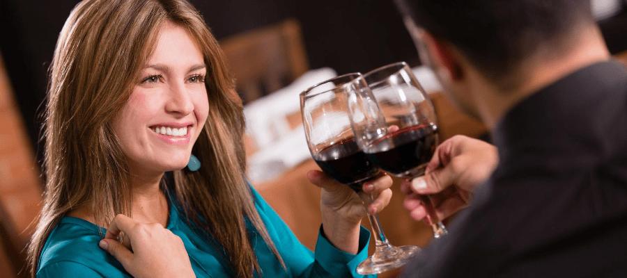 premier rendez-vous après un divorce vin