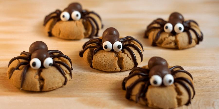 cookies araignées halloween chocobons