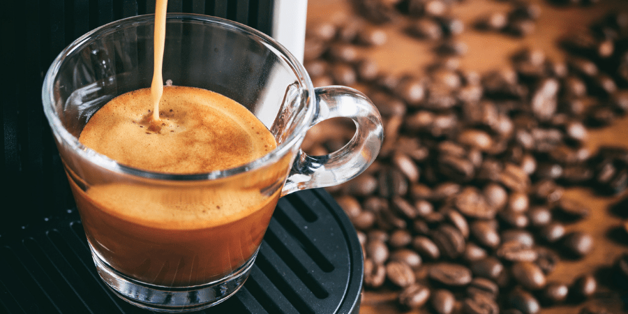 café machine