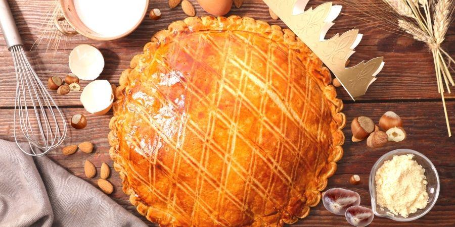 galette des rois noisettes et creme de marron