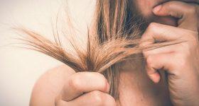 cheveux secs et abimés