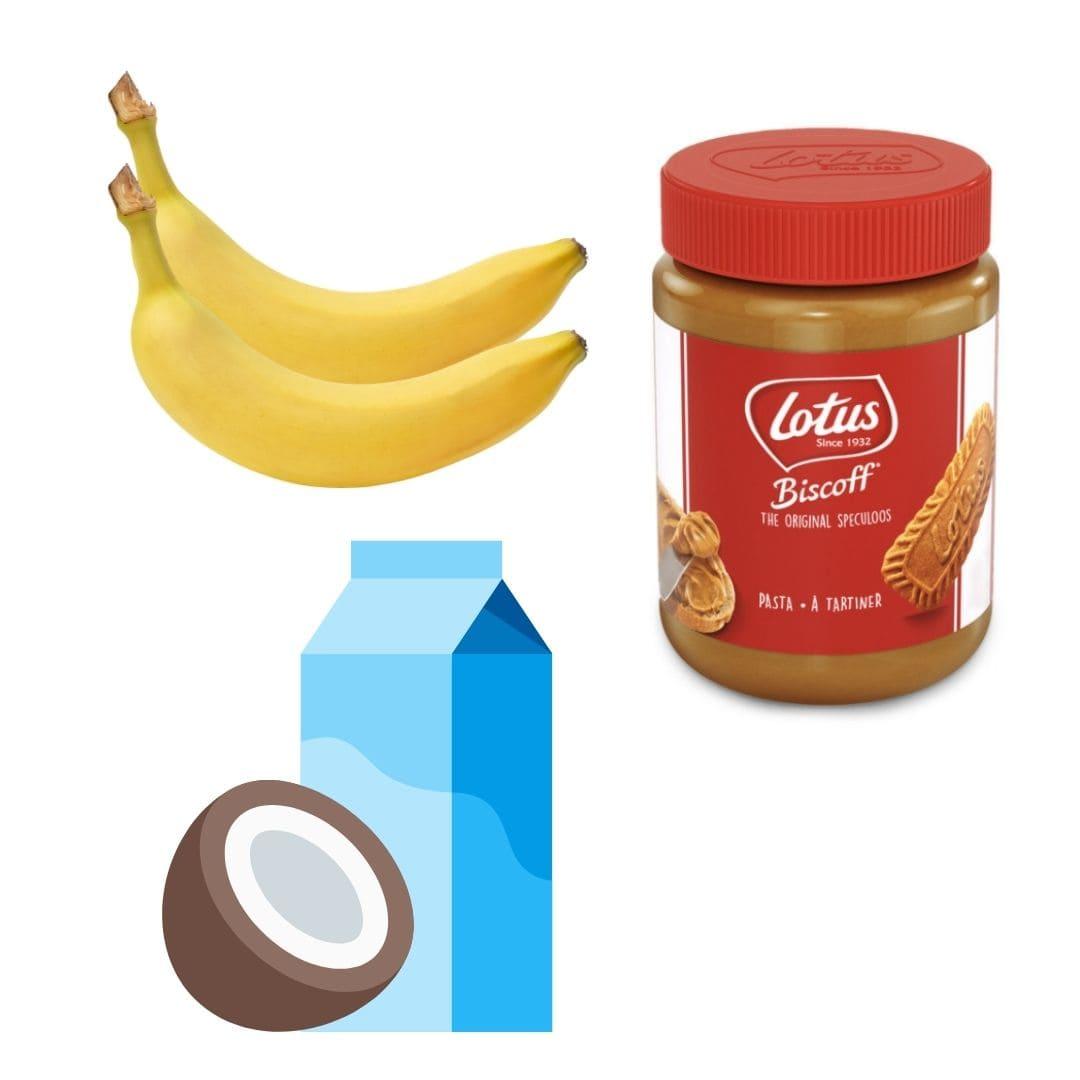 Ingrédients pour la recette